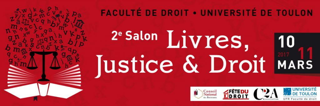 PGF partenaire salon Livres, Justice & Droit