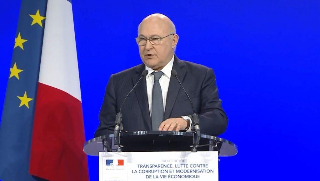 Michel Sapin - Conférence de presse Loi Sapin 2